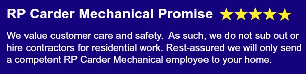 RP Carder Mechanical Promise - your safety is our top priority