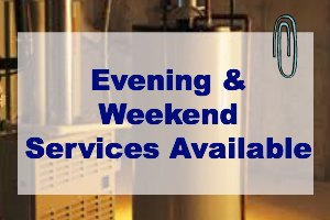Evening & Weekend Services Available