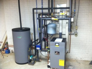 High Efficiency Burnham Alpine Boiler