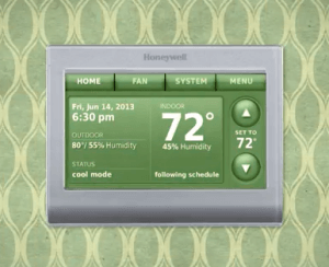 Honeywell precision IAQ thermostat