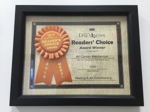 Reader's Choice Award 2015