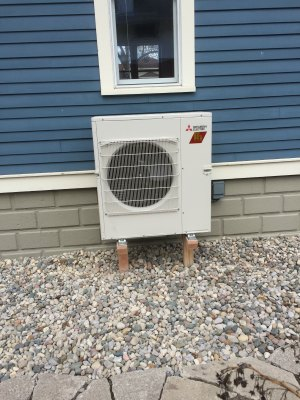 New Multi Zone Mitsubishi H2i Hyperheat Delivering 100% Of All Heating,  Cooling And